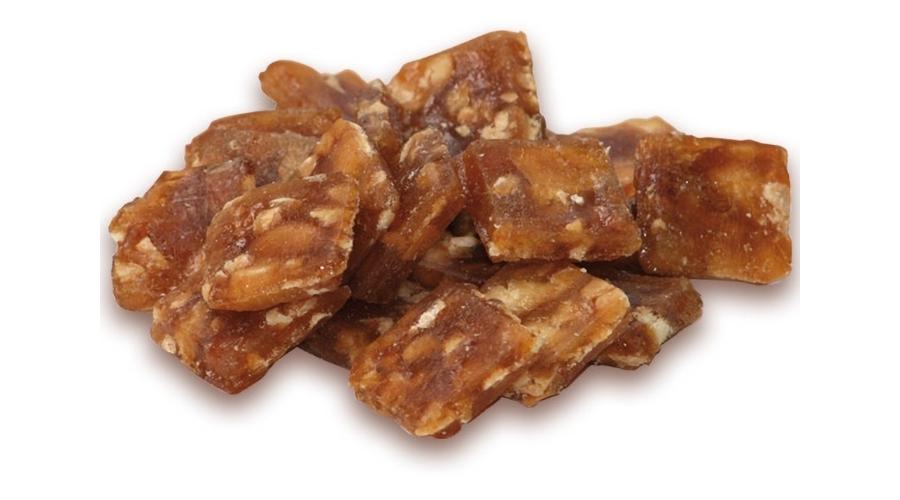 Erdnuß-Crunch mit grösteten Erdnüssen