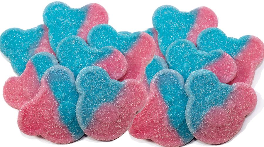 Bärenköpfe mit Gum Geschmack