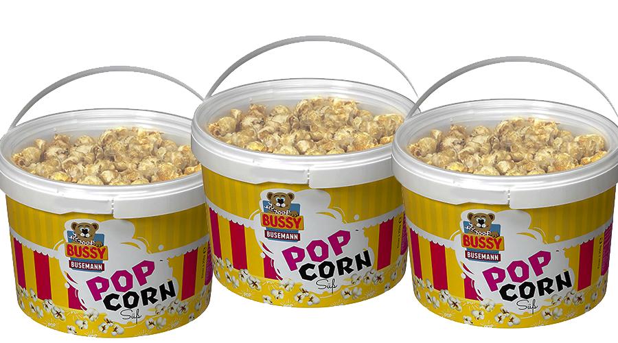 Bussy Popcorn Süß