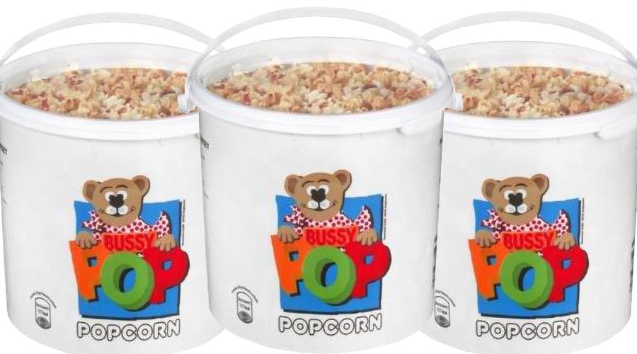 Bussy Popcorn Eimer