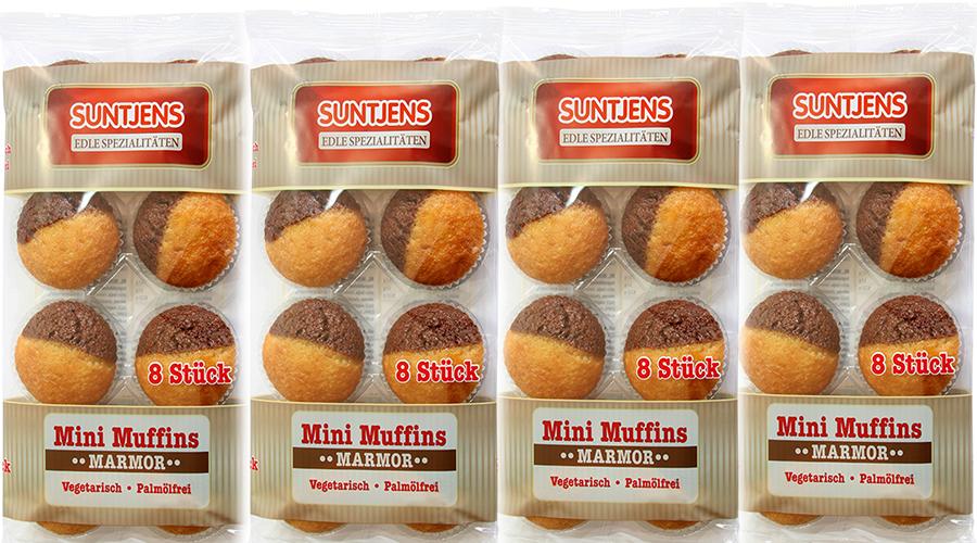 Mini Muffins Marmor