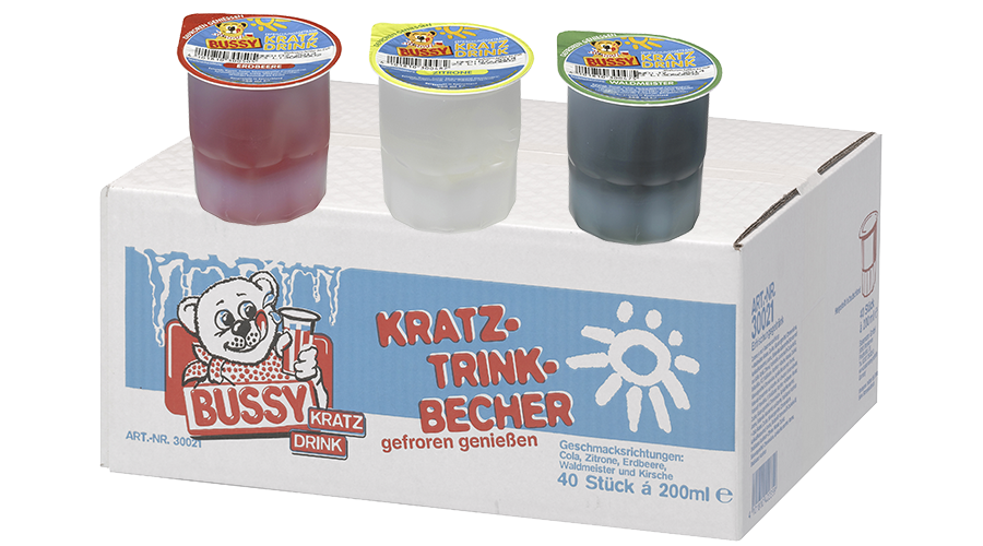 Busssy Kratzbecher Mix